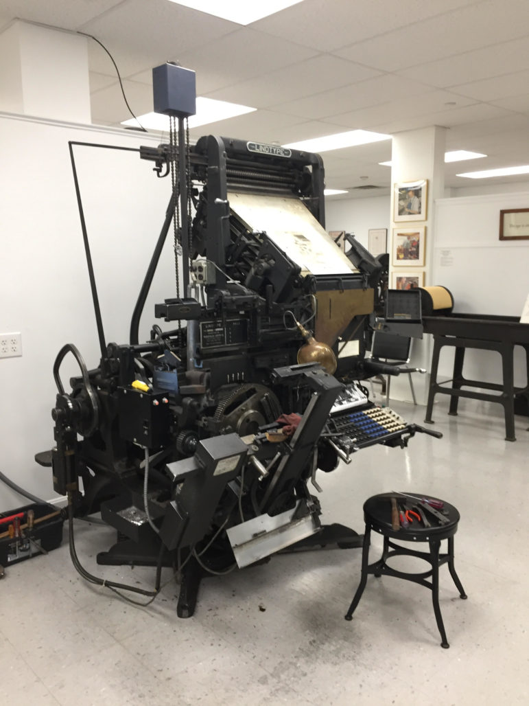 Don't stop the presses: keeping printing history alive