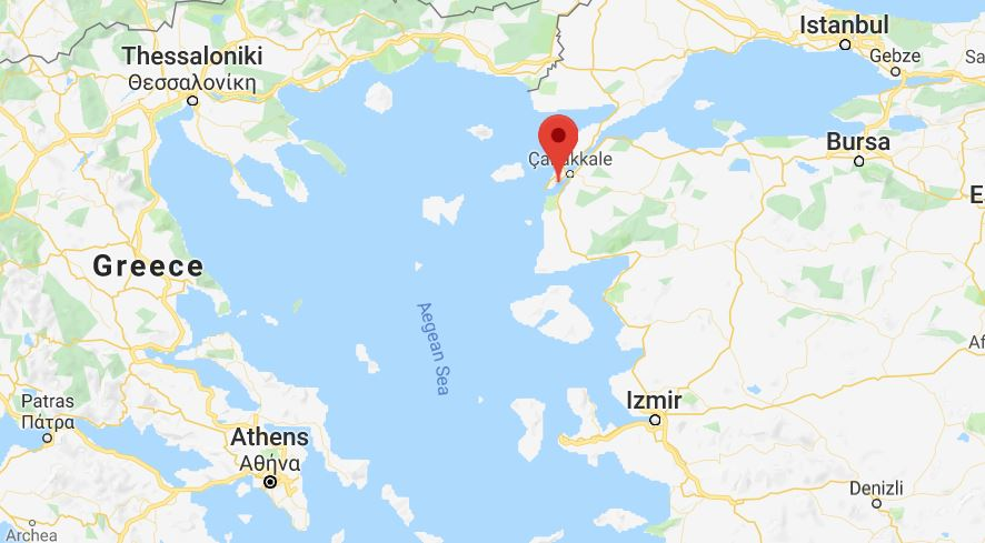 Swim Dardanelles Strait Map Google Youth Journalism International