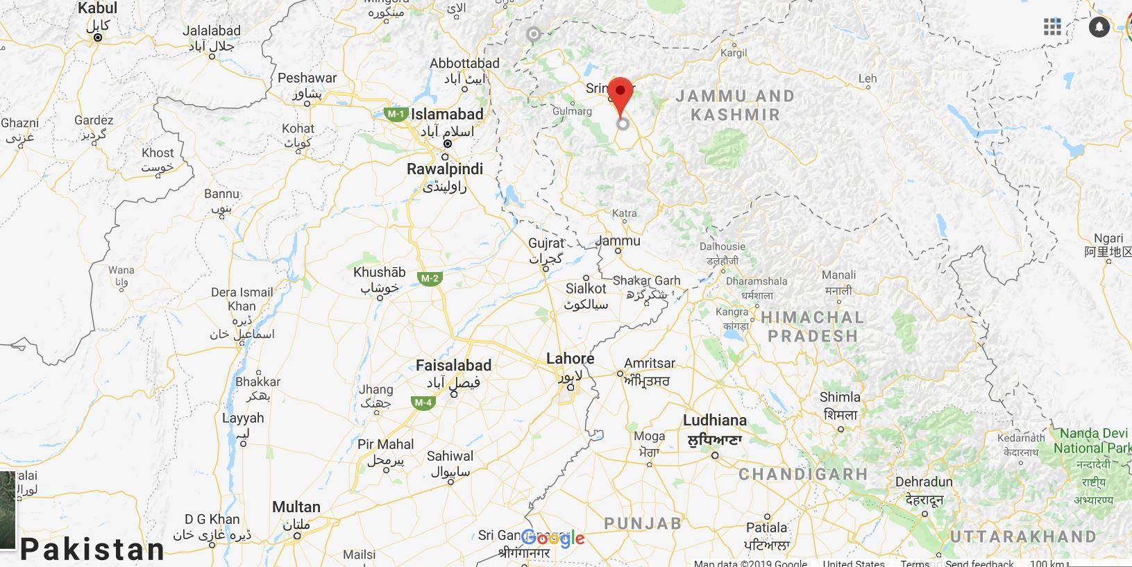 Map, Pakistan, India, Kashmir - Youth Journalism International
